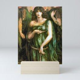 Syrian Astarte 1877 Pre Raphaelite Art dante Gabriel rossetti 1828-1882 Mini Art Print