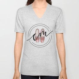 Caitlyn Manfre Designs Logo Unisex V-Neck