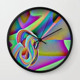 Linen Wall Clock