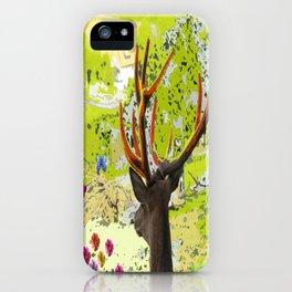 deer online iPhone Case