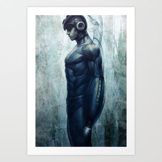 Mega Real Man Art Print