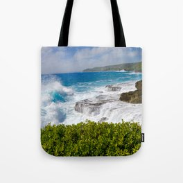 6 Feet From the Edge Tote Bag