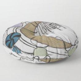 Trippy Moonlight Floor Pillow