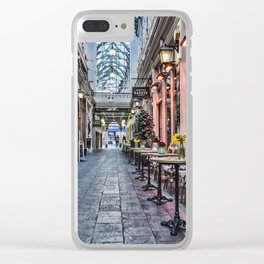 Arcade Cafe Clear iPhone Case