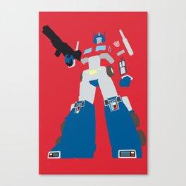 Transformers G1 - Optimus Prime Canvas Print