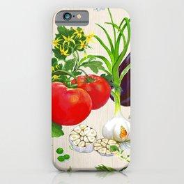 Veggie Composition iPhone Case