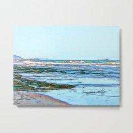 Beautiful abstract ocean view Metal Print