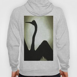 Basking Bird Shadow Hoody