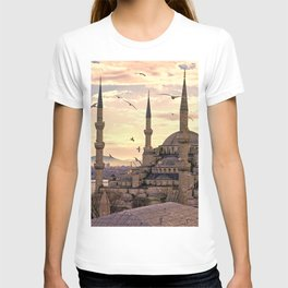 Sultan Ahmed Mosque Istanbul Turkey Ultra HD T-shirt