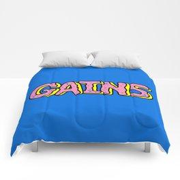 Donut Gains Comforters