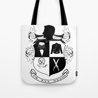 army Tote Bags featuring Armitage Army by Circus Doll
