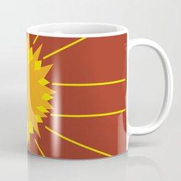 Abstract Fall Sun Coffee Mug