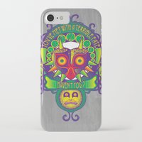 majora iPhone & iPod Cases featuring Majora Nouveau by Mareve Design