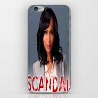 scandal iPhone & iPod Skins featuring SCANDAL by I Love Decor