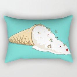 Ant Ski Rectangular Pillow