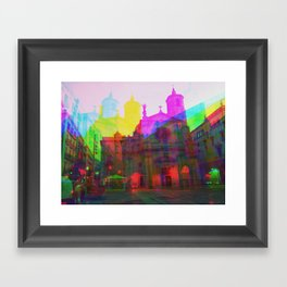 Multiplicitous extrapolatable characterization. 04 Framed Art Print