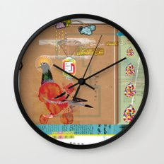 Transfusion Wall Clock