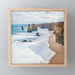 12 Apostles Great Ocean Road Australia Fine Art Print  • Travel Photography • Wall Art Framed Mini Art Print