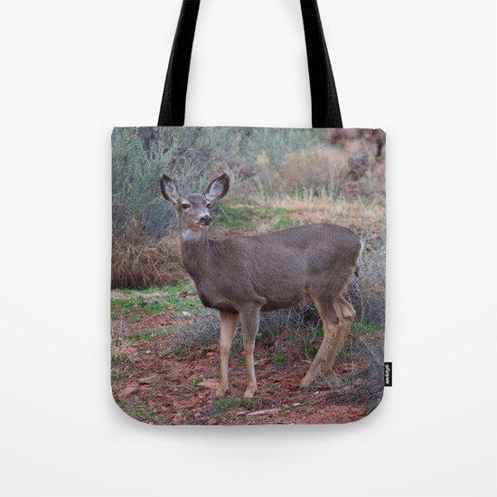 Zion Deer Tote Bag