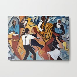 Street Tango Metal Print