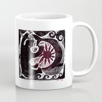 maori Mugs featuring GODS -Support Ainu and Maori Exchange Programme- by IWA -Indigenous Work and Art-