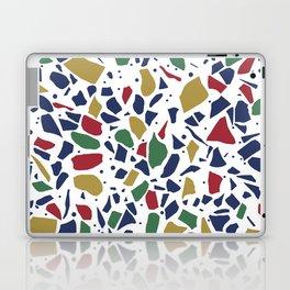 Terrazzo Spot Color on White Laptop & iPad Skin