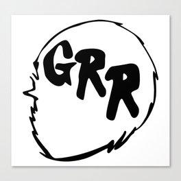 Grr Canvas Print