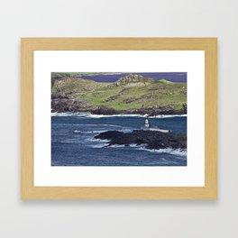 Valentia Lighthouse Framed Art Print