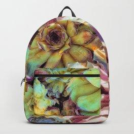 Bright Garden Succulents Backpack