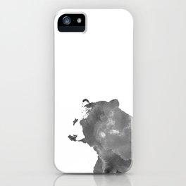 graphic bear II iPhone Case