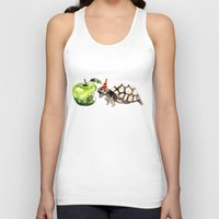 turtle Tank Tops featuring Turtle by Anna Shell