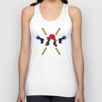 peggy carter Tank Tops featuring Agent Peggy Carter: Spying in Style by semisweetshadow