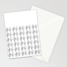 trees in this pattern Stationery Cards