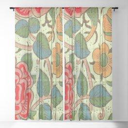 William Morris Rose Sheer Curtain