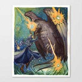 Howl's Moving Castle Canvas Print