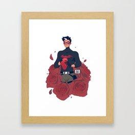 FLORA: Jason Framed Art Print