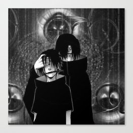 two brothers Canvas Print