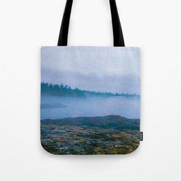 North Shore Fog Tote Bag