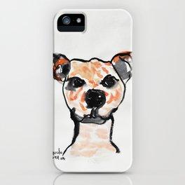 ORANGE DOG iPhone Case