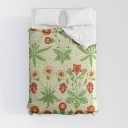 Daisy by William Morris 1862 Antique Vintage Pattern CC0 Spring Summer Comforters