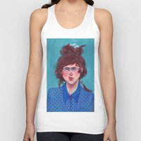 birdy Tank Tops featuring Birdy by Alice Holleman
