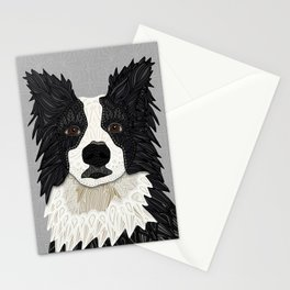 Beautiful Border Collie Stationery Cards