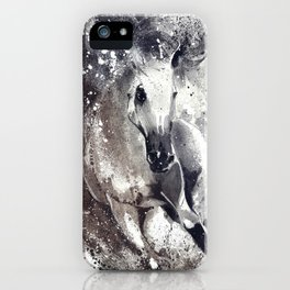 Arabian Stallion iPhone Case