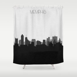 City Skylines: Memphis (Alternative) Shower Curtain