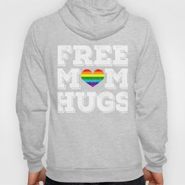 """Free Mom Hugs"" Is To Support The Gay, Lesbian, Bisexual, And Transexual Community T-shirt Design Hoody"