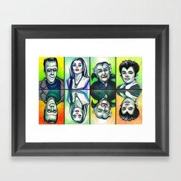 The Munsters Framed Art Print
