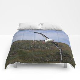 Albatross Soaring Comforters