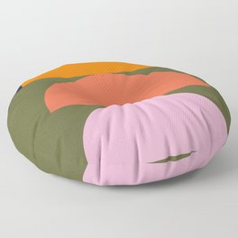 Spring- Pantone Warm color 03 Floor Pillow