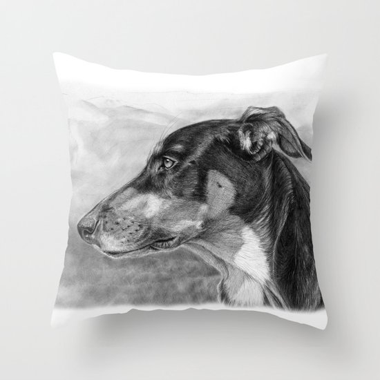sh-Dog G2009sh Throw Pillow