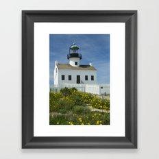 Cabrillo National Monument Lighthouse No 088 Framed Art Print